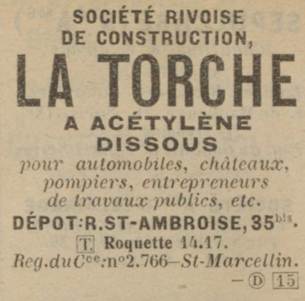 annuaire commercial 1925